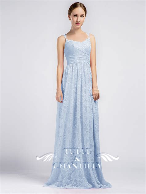 lace light blue bridesmaid dresses lace bridesmaid dresses with keyhole back