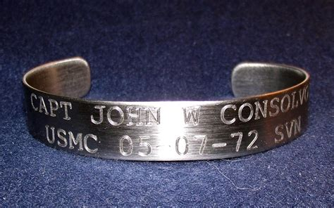 Kia Memorial Bracelet Freedom Calls Memorial Foundation P O Box 39 Smyrna