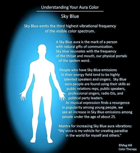 light blue meaning blue aura chakras auras energy pinterest