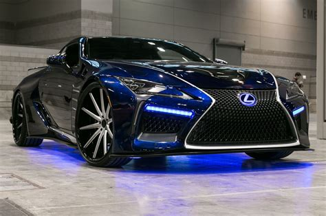 lexus car black lexus lc black panther concept car front seven eighths