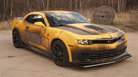 Autofolie Used Look by Gallery The Post Apocalypse Bumblebee Camaro Top Gear