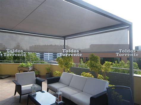 toldos de aluminio p 233 rgolas de aluminio pergalum 5 terrazas pinterest