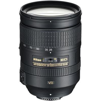 nikon 28 300mm f3.5 5.6 g af s ed vr lens | uk camera
