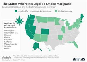 Medical Marijuana States Map by 4 States That Could Legalize Recreational Marijuana Next