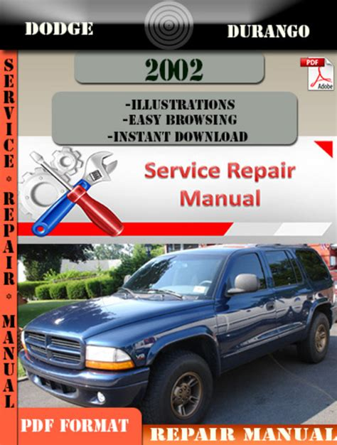 dodge durango 2002 factory service repair manual pdf zip download