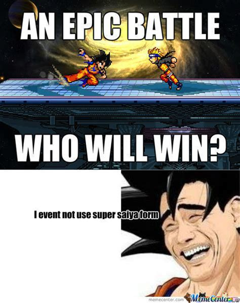 Naruto Vs Goku Meme - rmx goku vs naruto by louisadi meme center