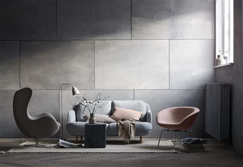 pot fabric chromed steel base armchairs  fritz