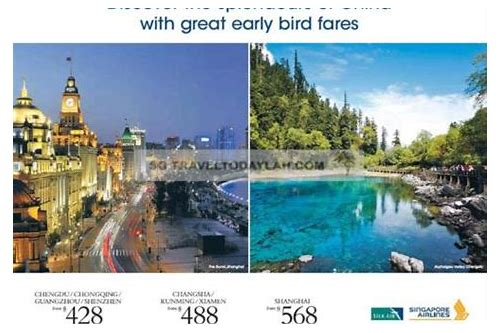 flight deals to china from singapore