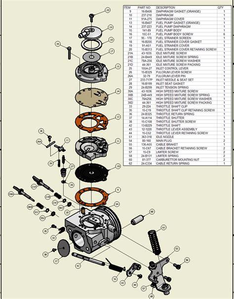 stihl eater diagram stihl eater carburetor parts diagram stihl get free