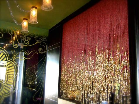 decorative partition curtains sparkly partition curtain interior design ideas