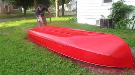 aluminum boat paint removal how to paint an aluminum boat youtube