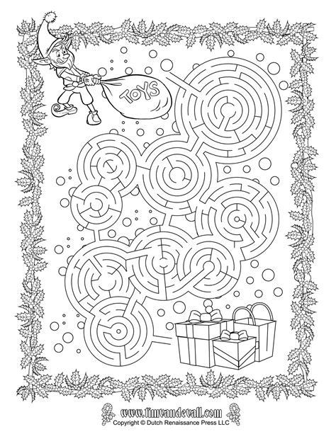 printable holiday mazes free christmas maze printable christmas printables