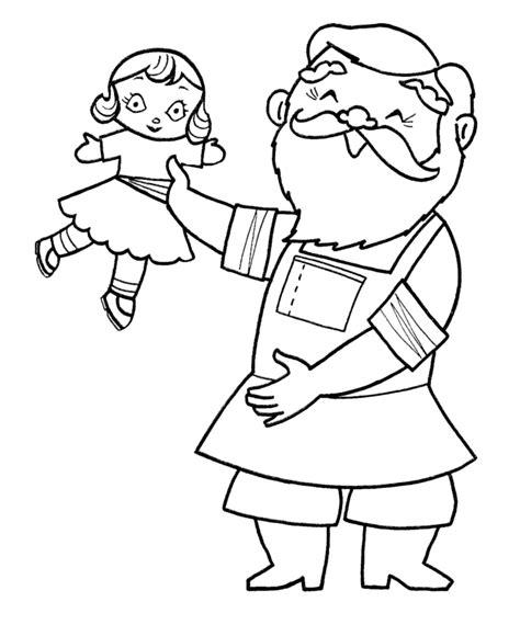 santa coloring page pdf christmas santa coloring page santa is making dolls