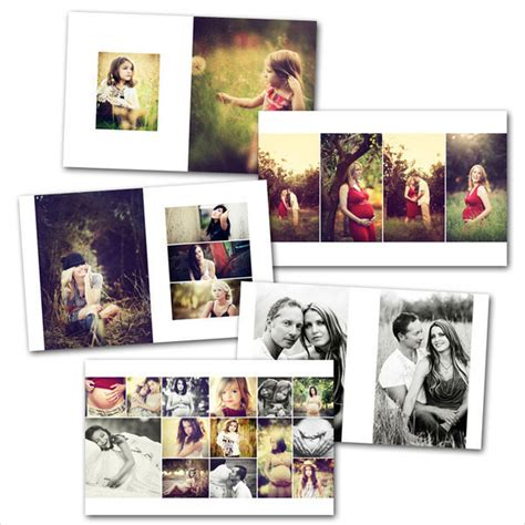 Wedding Album Template by 7 Vertical Album Templates Free Psd Eps Ai Format