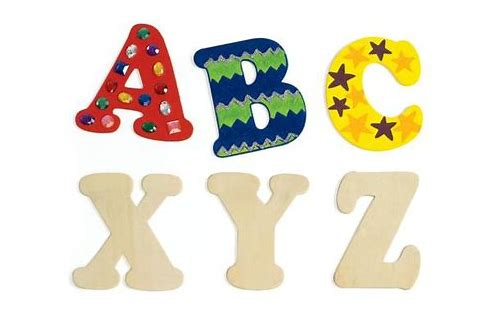 wooden letters coupon