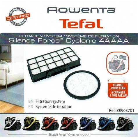 kit filtres aspirateur rowenta silence cyclonic 4a ro7611ea pieces