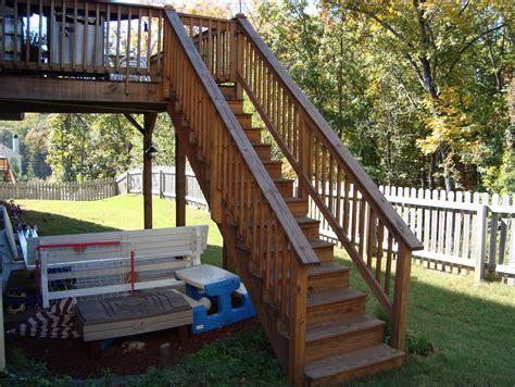 deck codes deck stair handrail code home design ideas