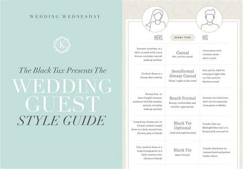 Wedding Invitation Style Guide