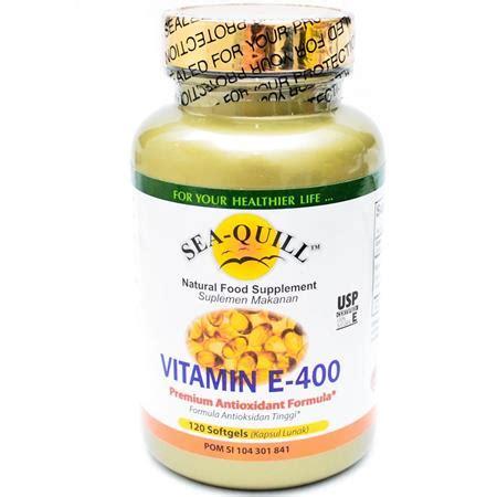 Nutrimax Vitamin E 400 Iu Water Soluble Isi 60 Soft 10 merk vitamin e yang bagus untuk kulit dan kesehatan