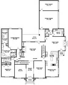 6 Bedroom House Plans Luxury Luxury Style House Plans 5120 Square Foot Home 2 Story