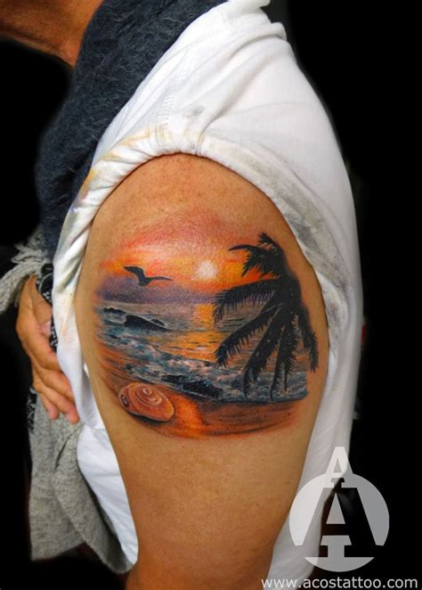 beach themed tattoos 108 best images about tropical tattoos on