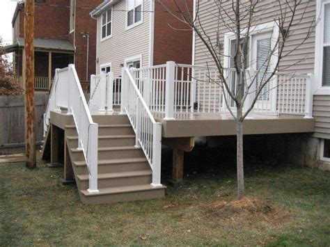 decks vinyl deck construction  missouri  deck