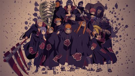 themes do naruto para ps3 akatsuki clouds hd wallpaper wallpapersafari