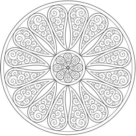 mandala coloring book dover paisley mandala coloring page sle dover publications