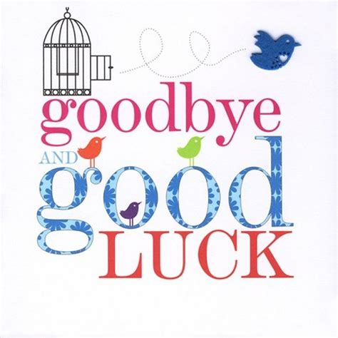 goodbye and luck card template i will miss you tremendously you re one of a and