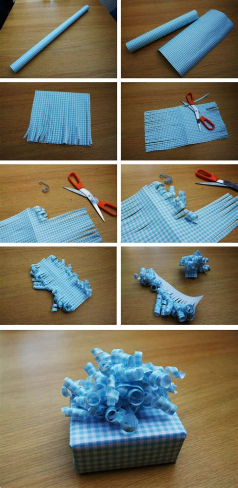how to make gift how to make curly bows for gift wrapping how to