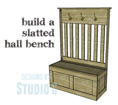 how to build a entryway bench with storage diy plans to build a slatted hall bench
