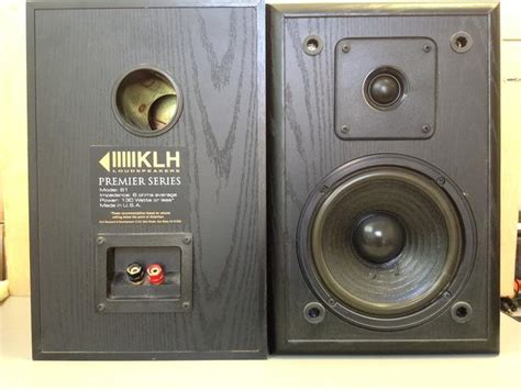 klh bookshelf speakers 28 images klh 2 way 100 watt