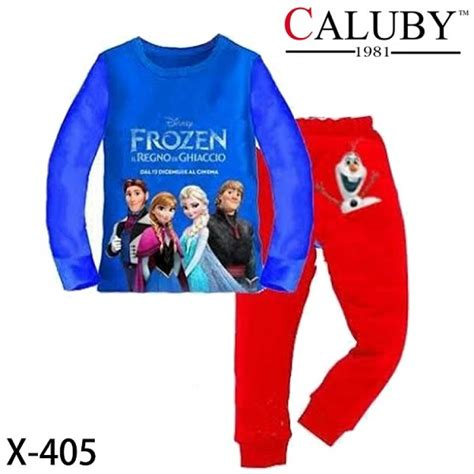 Piyama Anak Frozen Kartun pyjama for kartun sold out kedai cadar