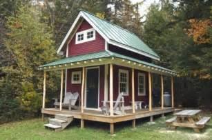 350 Sq Ft Floor Plans 160 Sq Ft Tiny Loft Cabin With Wraparound Porch