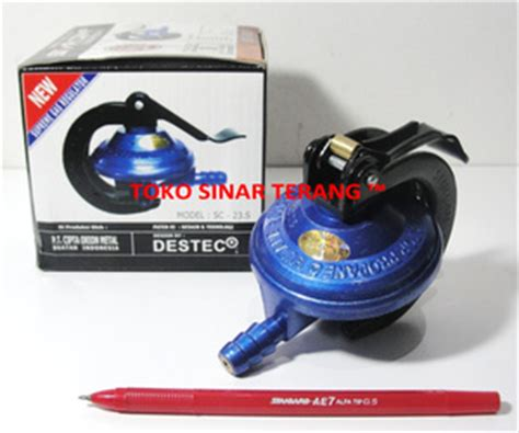 Selang Regulator Starcam jual regulator kompor gas lpg aman anti bocor merk