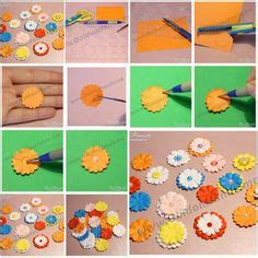 How To Make Paper Flowers For Scrapbooking - stuff i want to make scrapbooking on flower