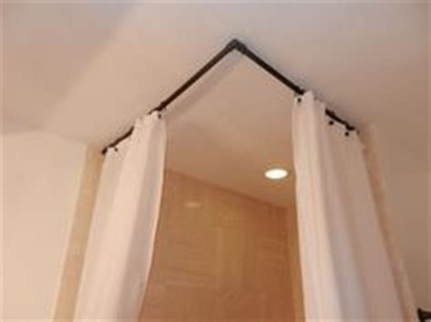 90 degree angle curtain rod ideas for the house on pinterest hanging room dividers