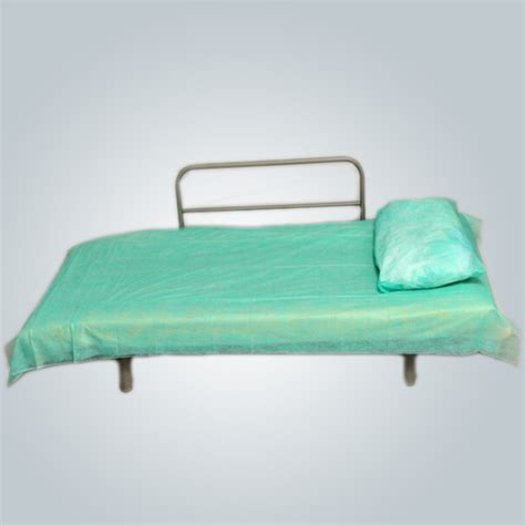 plastic bed sheets plastic disposable nonwoven bedsheets pe coated manufacturing