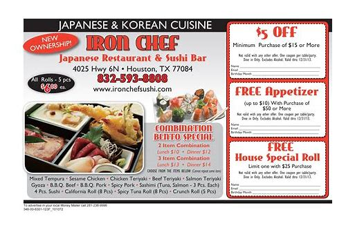 iron chef coupons wallingford ct
