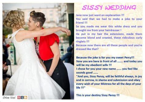 sissy marriage sissy wedding chloe sissy put me in dresses