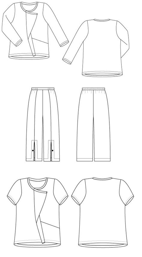 pattern workshop review sewing workshop urban t shirt pants
