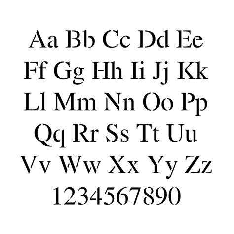 lettere romane stencils alphabet stencils times new lettering