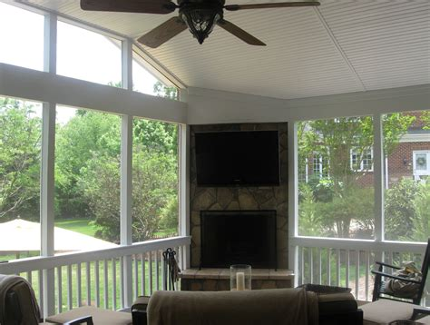 screened in porch designs with fireplace screened in porch with fireplace home design ideas