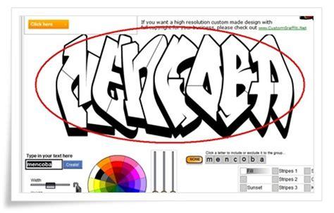 Cara Membuat Outline Graffiti | 4 langkah selanjutnya adalah kita bisa mengedit tulisan