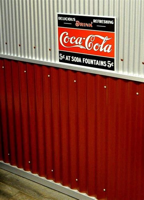corrugated metal siding  interiors corrugated metal