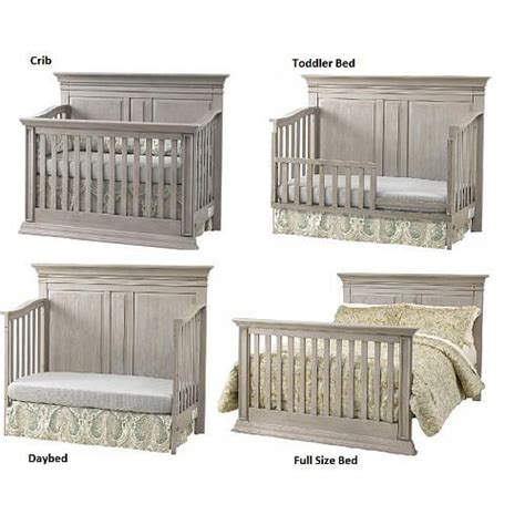 Vienna Ash Gray Crib by Baby Cache Vienna 4 In 1 Convertible Crib Ash Gray Baby Cache Ash Grey And Convertible Crib