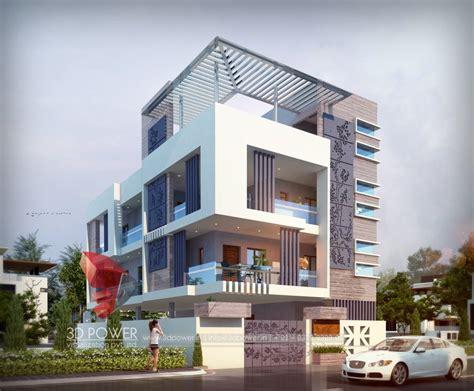 contemporary house elevation design