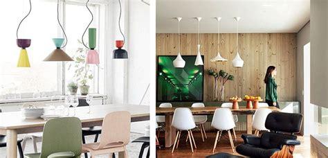 originales conjuntos de lamparas  el comedor