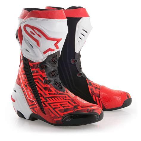 alpinestars supertech r le mm93 marquez boots revzilla