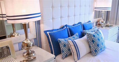 home styling antunes portfolio cobalt blue bedroom